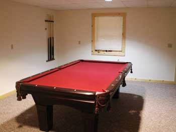 Hocking Hillls Cabins Lodges Pool Table