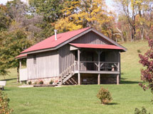 Hocking Hills Cabin Rentals-Pleasant Valley Cabin