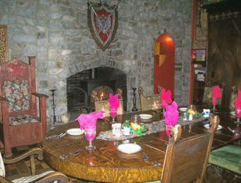 Ravenwood Castle Restaurant Hocking Hills Ohio